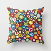 freckle spot lead Throw Pillow