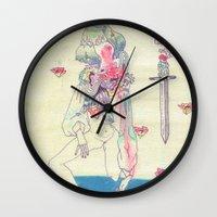GENDER WARRIOR Wall Clock