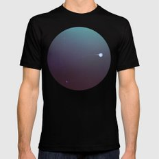In another lonely universe Mens Fitted Tee Black SMALL