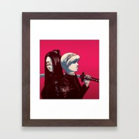 FreeStyle Collective Chi… Framed Art Print