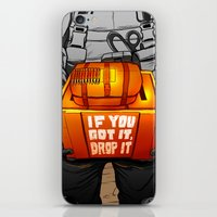 Drop It iPhone & iPod Skin