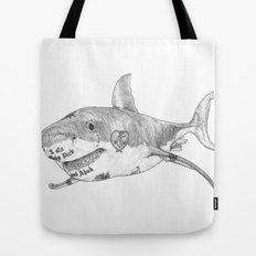 Shark Prank Tote Bag