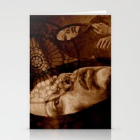 Gothic - Sepia Stationery Cards
