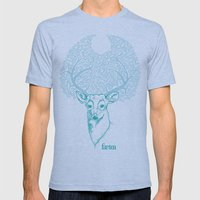 Dear Hart Mens Fitted Tee Athletic Blue SMALL