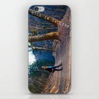 The Wild Is Calling. iPhone & iPod Skin