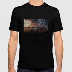 Manna-Hata Mens Fitted Tee Black SMALL