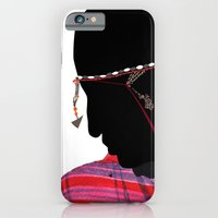 iPhone & iPod Case featuring Maasai Man by zamantungwa