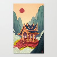 Air Temple Canvas Print