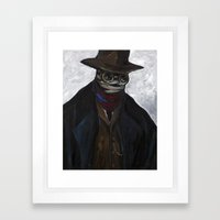 Mr. Griffin Framed Art Print