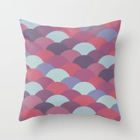 Circles Abstract 2 Throw Pillow