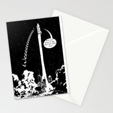 Space shuttle Stationery Cards