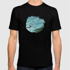The Lost City SMALL Black Mens Fitted Tee