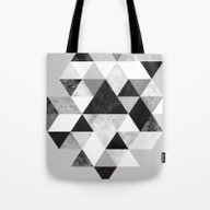 Graphic 202 Black And Wh… Tote Bag
