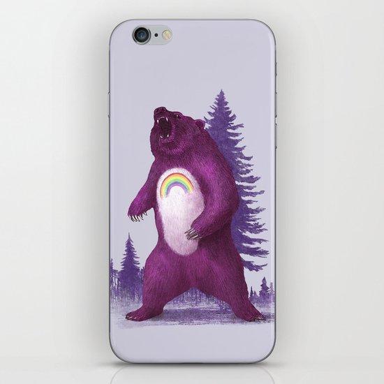 Scare Bear iPhone & iPod Skin