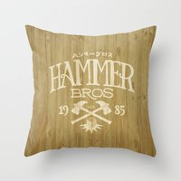 HAMMER BROTHERS Throw Pillow