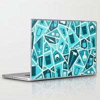 breaking bad Laptop & iPad Skins featuring Breaking Bad by Felix Rousseau