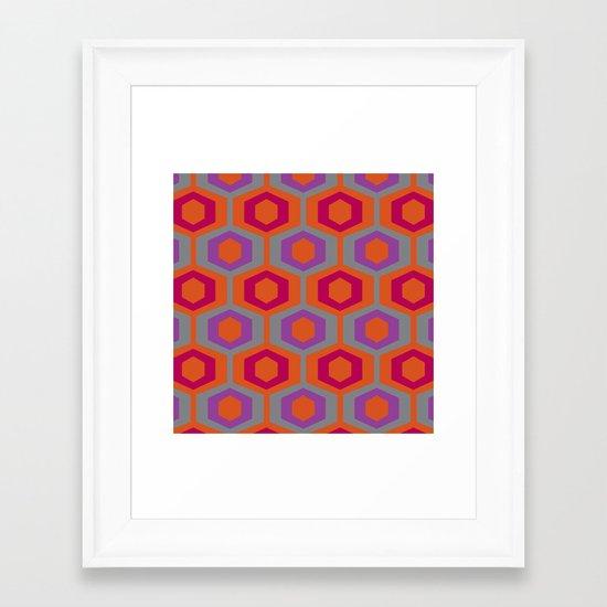 modcushion 10 Framed Art Print