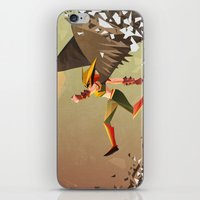Flying and Hitting Stuff is Awesome iPhone & iPod Skin