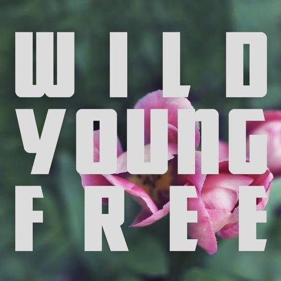 Wild Young Free Art Print