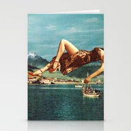 The Siren Waits Thee, Si… Stationery Cards