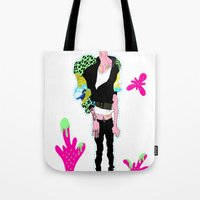 Strawberry Melon Tote Bag