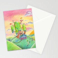Land of Ooo Stationery Cards