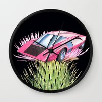 Favourite Flavour Wall Clock