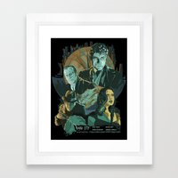 Dark City Poster Framed Art Print