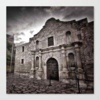 The Alamo Canvas Print