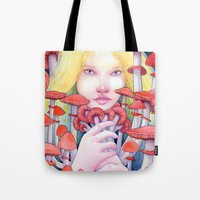 Keeper of the Scarlet Garden Tote Bag