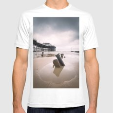 Cromer - Winter Day White Mens Fitted Tee SMALL