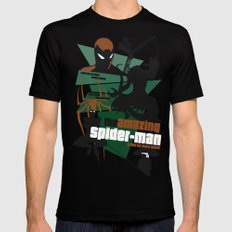 Amazing Spider-man Poster SMALL Mens Fitted Tee Black