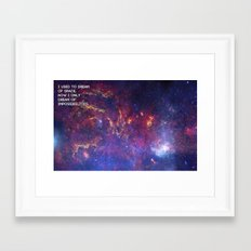 Dreaming of Impossible Framed Art Print
