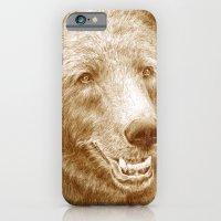 Brown Bear Is Happy iPhone 6 Slim Case