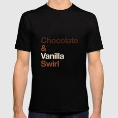 Chocolate & Vanilla Swirl OITNB Black Mens Fitted Tee SMALL