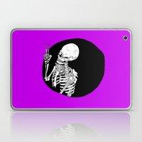 Skeleton Wink Laptop & iPad Skin