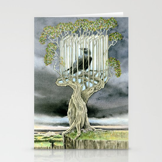 Wicked nature Stationery Card