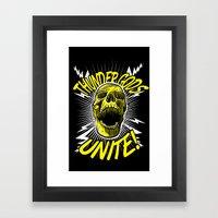 Thunder Gods Unite! Framed Art Print
