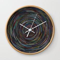 Star lapse Wall Clock