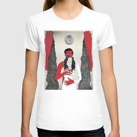 say yes Womens Fitted Tee White SMALL
