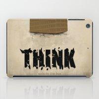 Think Outside The Box iPad Case