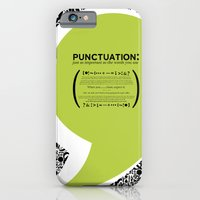 iPhone & iPod Case featuring Punctuation [Appreciation]. by Gean Shanks