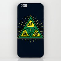 The Tribal Triforce iPhone & iPod Skin