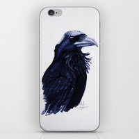 .Raven iPhone & iPod Skin