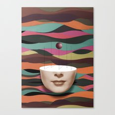 Hit the reset button in Your Brain Canvas Print