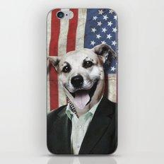 Patriotic Dog | USA iPhone & iPod Skin