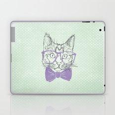 Hipster Kitten Laptop & iPad Skin