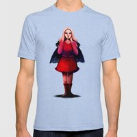 Rocket Girl Mens Fitted Tee Tri-Blue SMALL