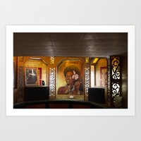 Hot Dogs & Tiki Bars Art Print