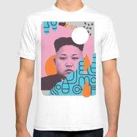 Kim Jong Fun! Mens Fitted Tee White SMALL